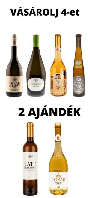 Januári Kedvezmény:  Vásárolj 4 palackot 2-t Ajándékba küldünk